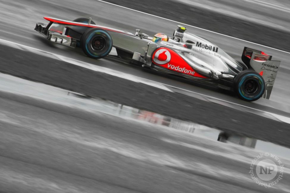 Lewis Hamilton @ Silverstone