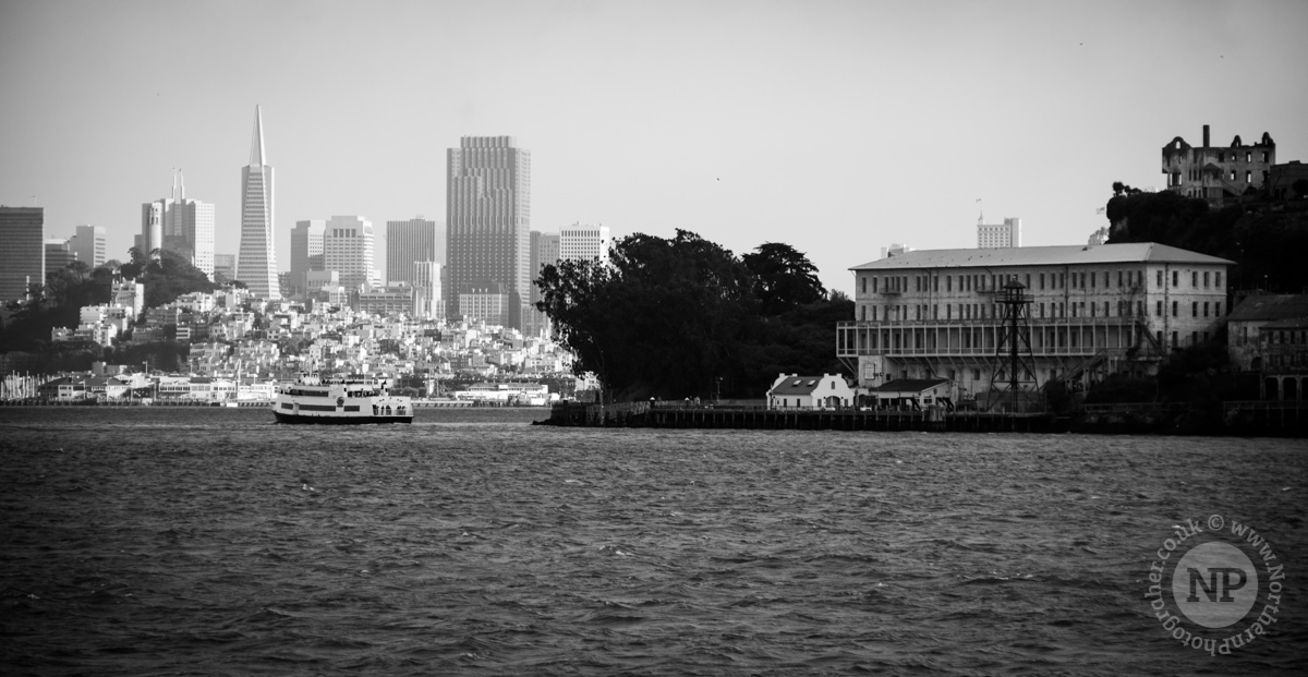 Alcatraz with the City in the background