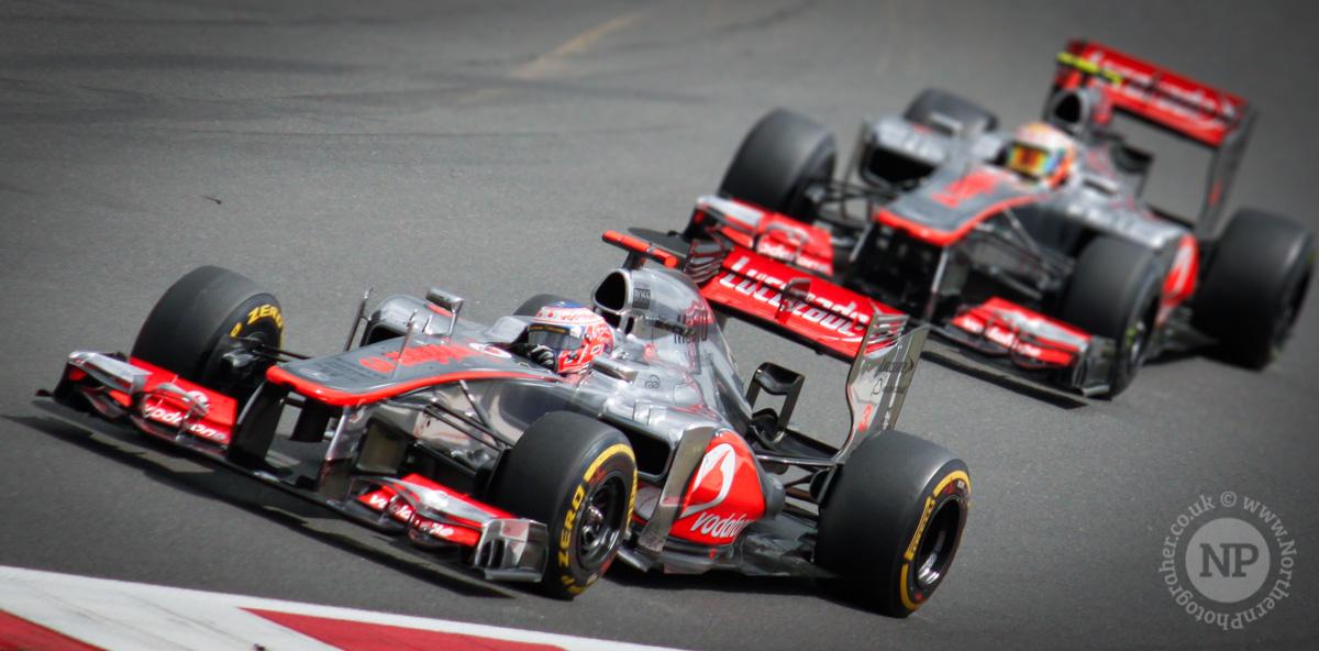Jenson Button & Lewis Hamilton, McLaren