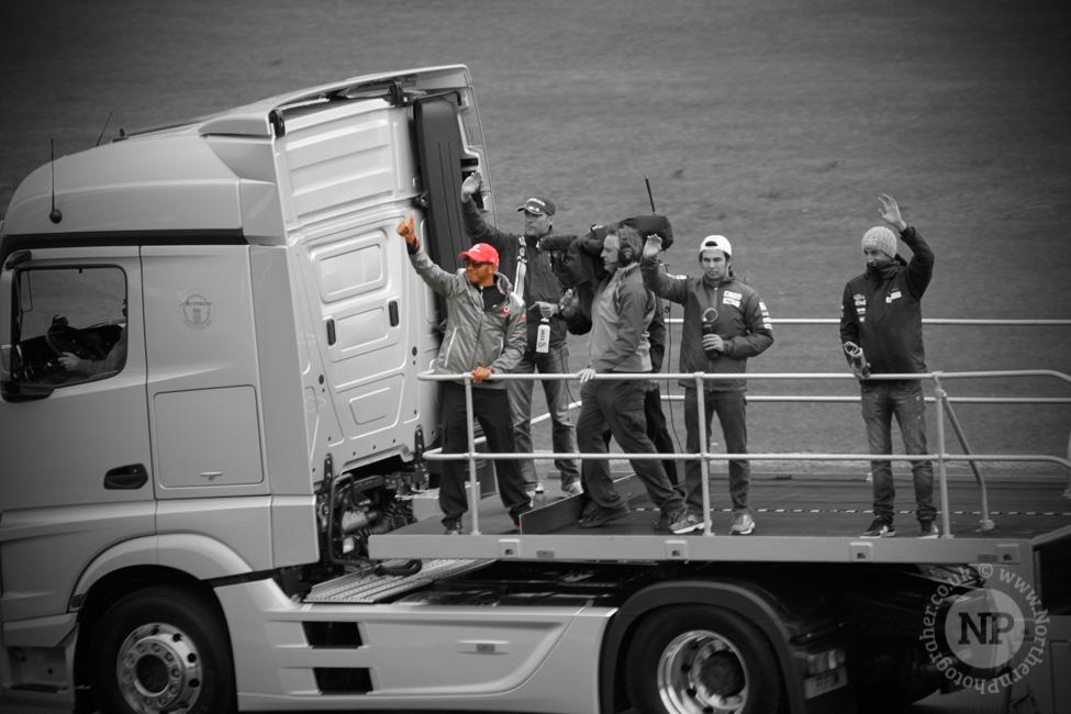 Lewis Hamilton, Driver Parade