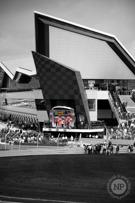 Silverstone Wing Podium