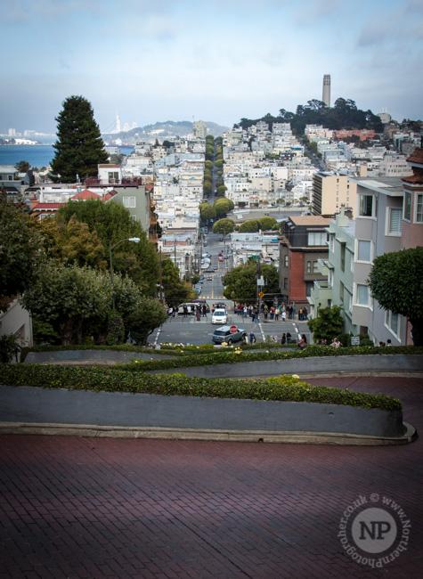 Lomdard Street Sign, San Francisco