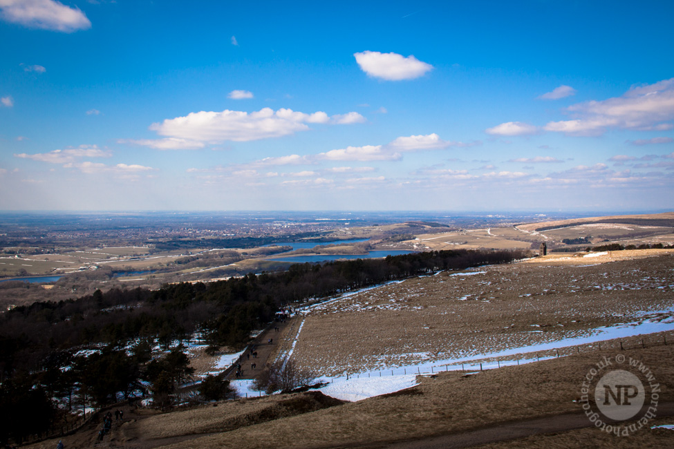 View Towards Preston From Rivington Pike