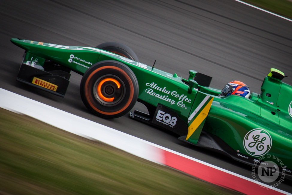 Alexander Rossi, Caterham GP2 - A 'Glowing' perfomance