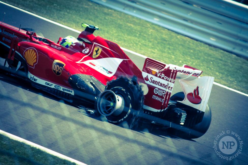 Felipe Massa Puncture