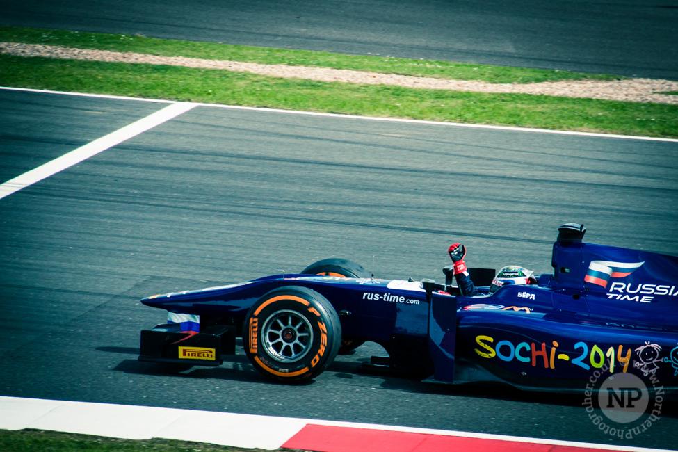 Sam Bird, Russian Time GP2
